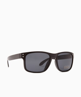 Provogue Rectangular Sunglasses(Grey)