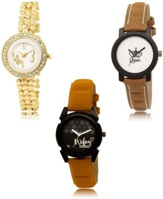Uqbah Combo Butterfly Vintage Watch  - For Women