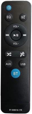 LipiWorld 87-309019-17R Audio System Remote Control Compatible for Home Theater Panasonic Remote Controller(Black)