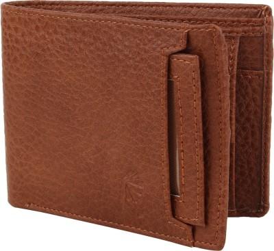 Rosset Men Formal Brown Artificial Leather Wallet 6 Card Slots