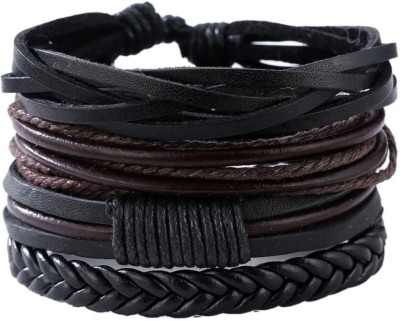 University Trendz Leather Cuff(Pack of 4)