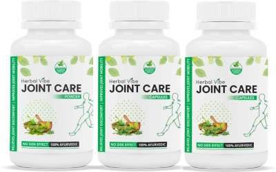 Herbal Vibe Joint Care Capsule for Joint Pain Management Capsules(90)