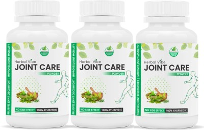 Herbal Vibe joint Care Powder for Joint Pain Management Ayurvedic Powder(180 g)