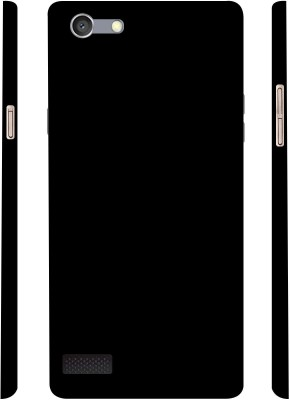 Casotec Back Cover for OPPO Neo 7(Black, Plastic)