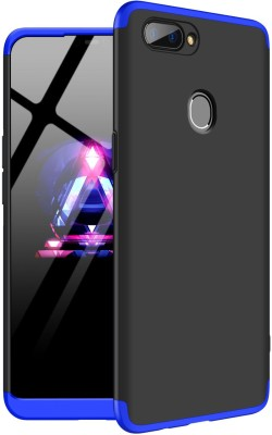 GadgetM Back Cover for Realme 2(Blue, Black, Shock Proof)