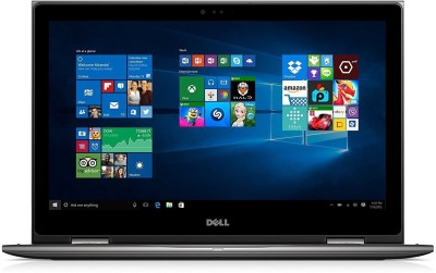 Dell 5000 Core i5 7th Gen - (8 GB/1 TB HDD/Windows 10 Home) 5578 2 in 1 Laptop 15.6 inch, Silver, 2.2kg kg