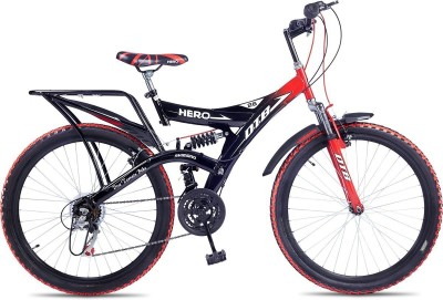 Hero Ranger 18 Speed Dtb Vx 26T 26 T 18 Gear Mountain Cycle(Multicolor)