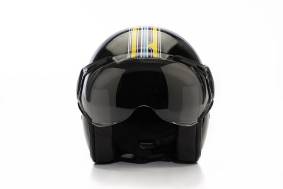 Vespa vstripes moto helmet