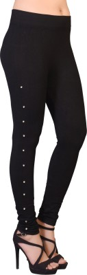 Ziva Fashion Black Jegging(Solid)