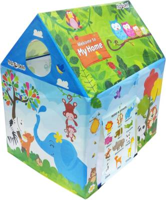 Itoys Play tent house for kids in Jungle theme