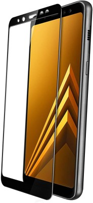Classy Edge To Edge Tempered Glass for samsung galaxy a7 full glue tempered glass, samsung galaxy a7 full glue black(Pack of 1)