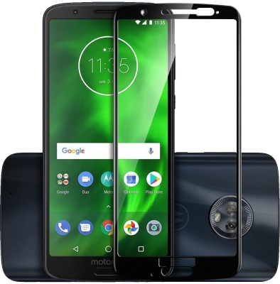 Knotyy Edge To Edge Tempered Glass for Motorola Moto G6 Plus(Pack of 1)