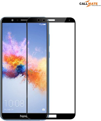 Callmate Tempered Glass Guard for Screen Protector 9H 5D for Huawei Honor 7 X (Pack -2)(Pack of 2)