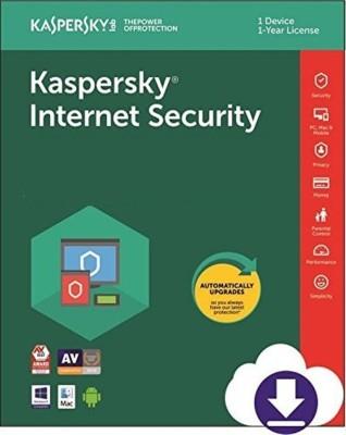 KASPERSKY Internet Security 2019 - 1 Pc / 1 Year / 1 User [1 Key+ 1 CD] (Latest Version)
