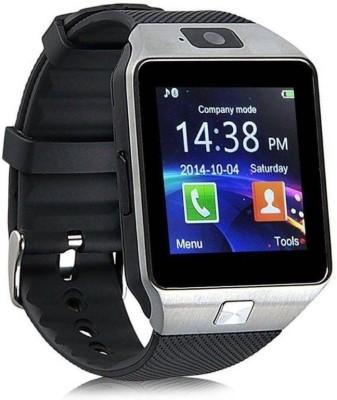 SPORTZEE DZ09 Silver Smartwatch(Silver Strap Regular) at flipkart