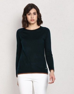 People Women Button Solid Cardigan