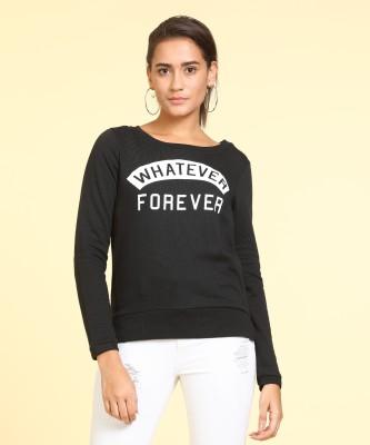 Only Full Sleeve Printed Women Sweatshirt at flipkart