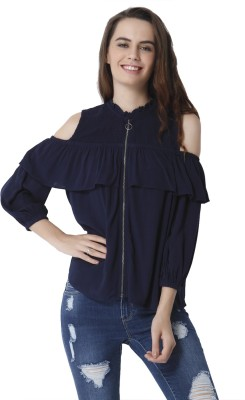 Besiva Party Full Sleeve Solid Women