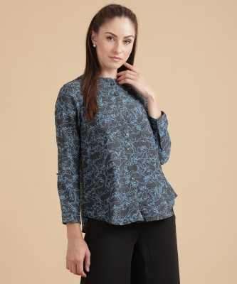 W Casual Full Sleeve Printed Women