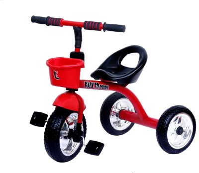 lusa T1 tricycle with chrome wheels T1 tricycle with chrome wheeels Tricycle Red lusa Tricycles