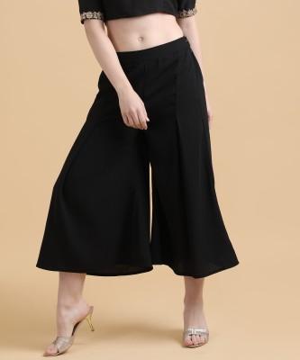 Varanga Regular Fit Women Blue Trousers
