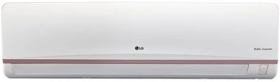 LG 1.5 Tons 3 Star BEE Rating 2018 Split AC  - White(JS-Q18VUXD, Copper Condenser)   Air Conditioner  (LG)