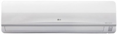 View LG 1 Ton 3 Star BEE Rating 2018 Split AC  - White(JS-Q12MUXD, Copper Condenser)  Price Online