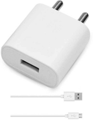 99 Gems KCM 2.1A SMARTPHONES QUICK FAST USB CABLE WITH ADAPTER Mobile Charger(White, Cable Included)