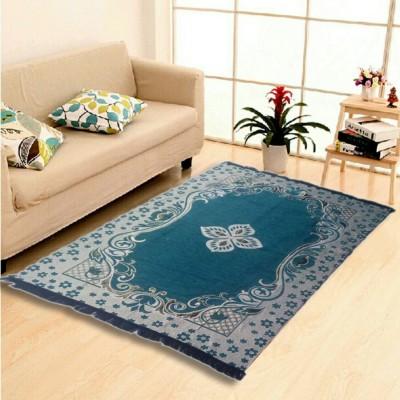 SHIV Multicolor Cotton Carpet(121 cm  X 183 cm) at flipkart