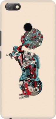 AMEZ Back Cover for Infinix Note 5(Multicolor Harley davidson cartoon, Hard Case, Plastic)