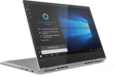 Lenovo Yoga 730 Core i5 8th Gen – (8 GB/512 GB SSD/Windows 10 Home) 730-13IKB 2 in 1 Laptop(13.3 inch, Platinum Grey, 1.12 kg, With MS Office)
