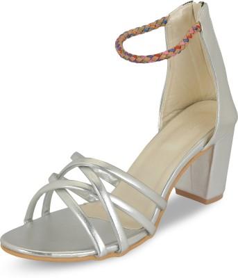 Digni Women Silver Heels Digni Heels
