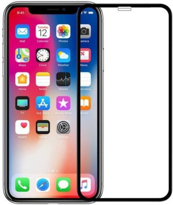 NKCASE Edge To Edge Tempered Glass for Apple iPhone X(Pack of 1)
