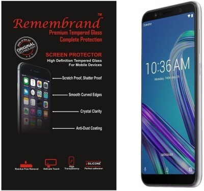 Remembrand Impossible Screen Guard for Asus Zenfone Max Pro M1(Pack of 1)