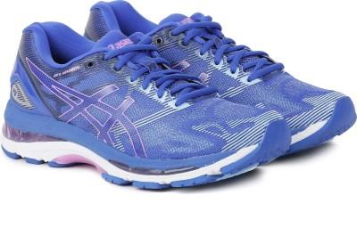 Asics GEL-NIMBUS 19 Running Shoes For Women(Blue) at flipkart