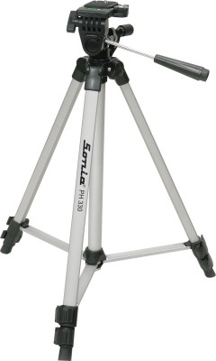 SONIA PH330A Tripod Black, Supports Up to 3000 g
