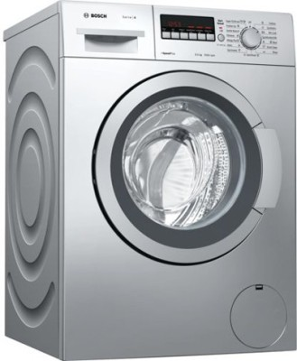 Bosch 6.5 kg Fully Automatic Front Load Washing Machine Silver(WAK20267IN) (Bosch)  Buy Online
