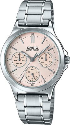 Casio A1148 Enticer Lady Analog Watch For Women