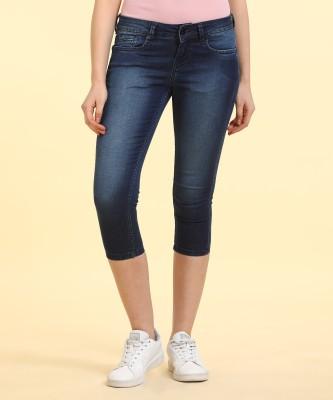 Pepe Jeans Skinny Women's Blue Capri