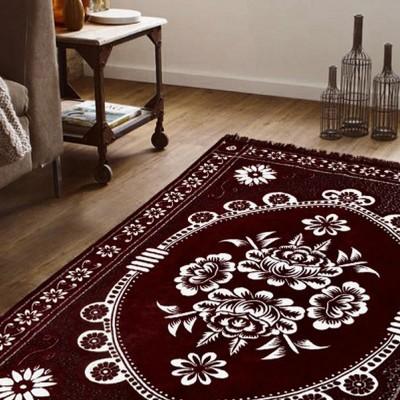 Edifice Couture Brown Chenille Carpet(182 cm X 213 cm)