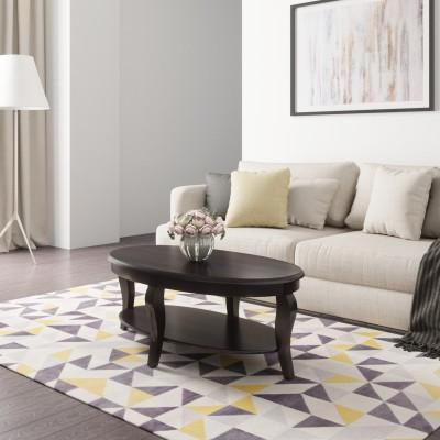 Flipkart Perfect Homes PureWood Sheesham Coffee Table(Finish Color - Walnut)
