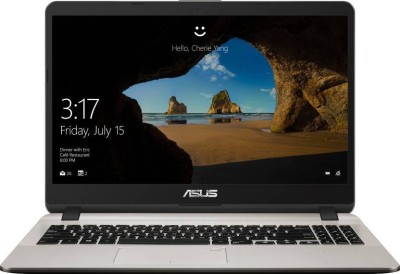 Asus X507UF Core i5 8th Gen - (8 GB/1 TB HDD/Windows 10/2 GB Graphics) EJ101T Laptop(15.6 inch, Gold) at flipkart