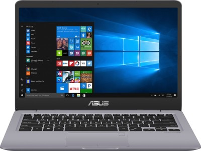Asus VivoBook S14 Core i7 8th Gen - (8 GB/1 TB HDD/256 GB SSD/Windows 10 Home) S410UA-EB720T Thin and Light Laptop(14 inch, Grey Metal, 1.30 kg)