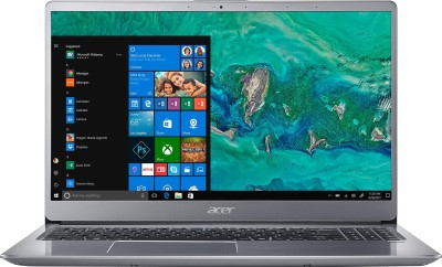 Acer Swift 3 Core i5 8th Gen - (8 GB/1 TB HDD/128 GB SSD/Windows 10 Home/2 GB Graphics) SF315-52G Laptop(15.6 inch, Sparkly Silver, 1.8 kg)