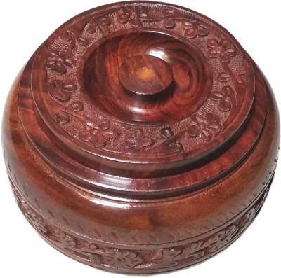 Craftpoint Hand Crafted Spices Box/Masala Box/Dry Fruit Box 1 Piece Spice Set Wooden Craftpoint Condiment Sets