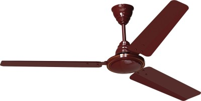 Gorilla Efficio+ Energy Saving 5 Star Rated With Remote Control and BLDC Motor,1200mm 3 Blade Ceiling Fan(Sand Grey, Pack of 1.0)