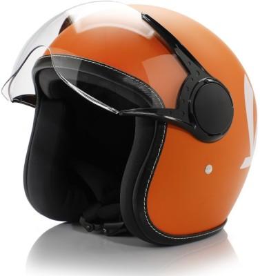 Vespa colour helmet orange