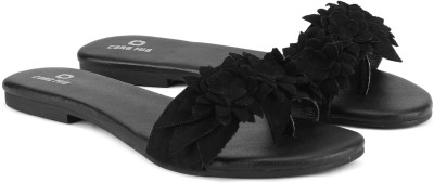 Cara Mia Women Black Flats