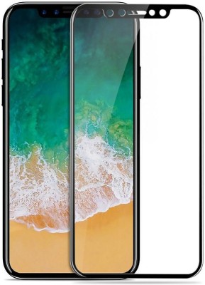 Novo Style Edge To Edge Tempered Glass for Apple IPhone X 4D Curved Soft Edge(Pack of 1)