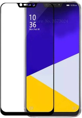 onlinecart Edge To Edge Tempered Glass for Asus zenfone 5z full glue tempered glass, Asus zenfone 5z full glue black(Pack of 1)